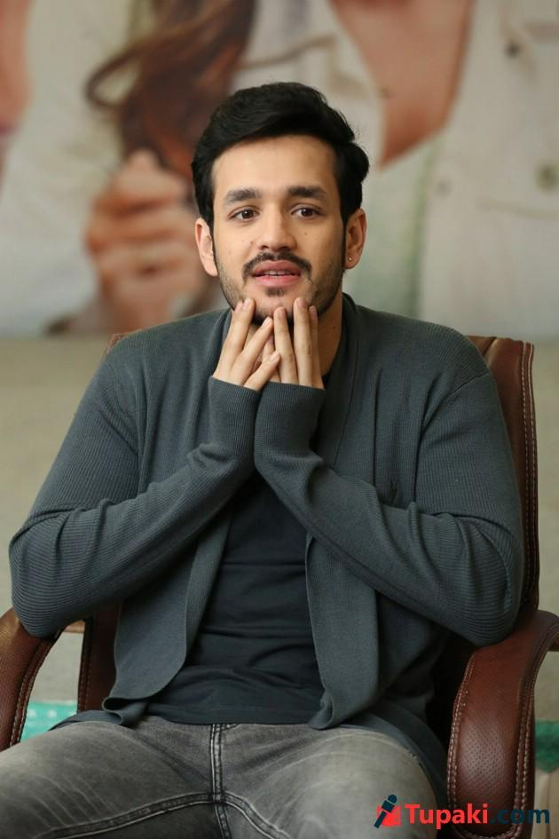Akhil Interview Photos