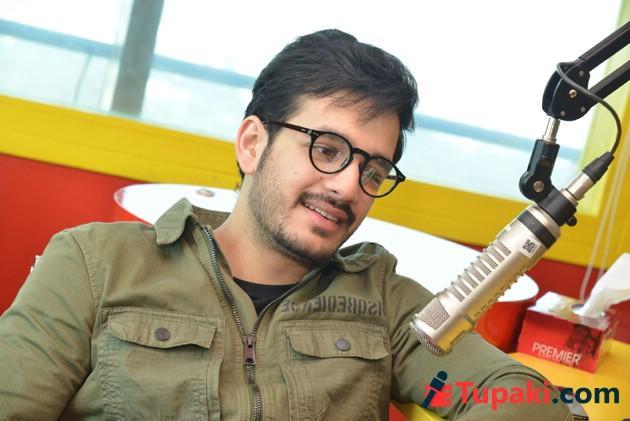 Akhil Akkineni At Radio Mirchi Photos