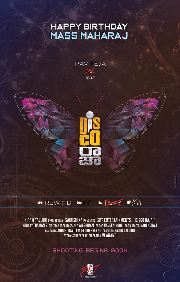 Disco Raja Movie Posters And Stills
