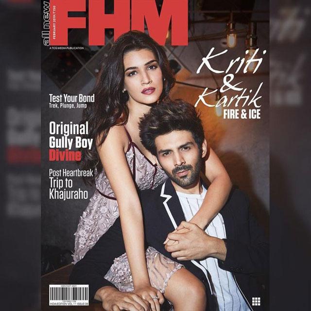 Kriti Sanon FHM Photo Shoot Photos