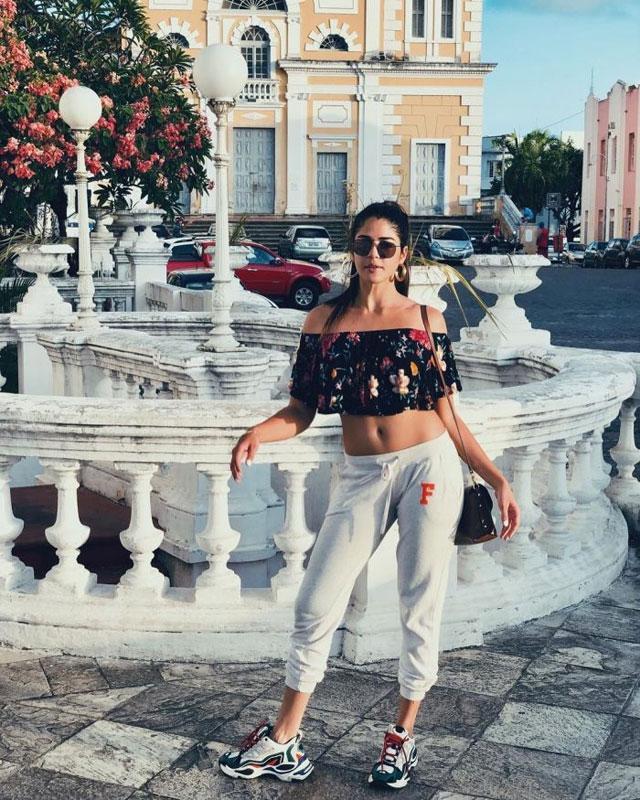 Mr Majnu fame Izabelle Instagram Photos