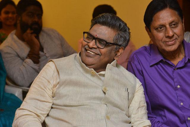 Sirivennela Felicitated At K Viswanath Athmeeya Abhinandana Sabha