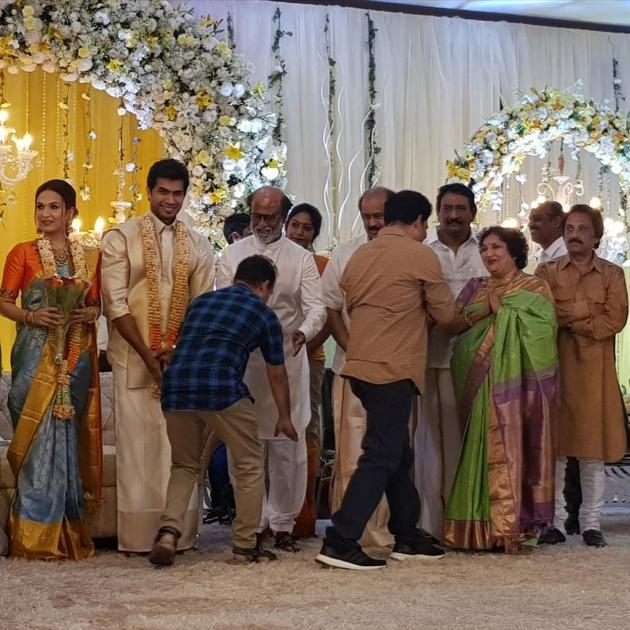 Rajinkanth Daughter Soundarya Rajinikanth Wedding Pics