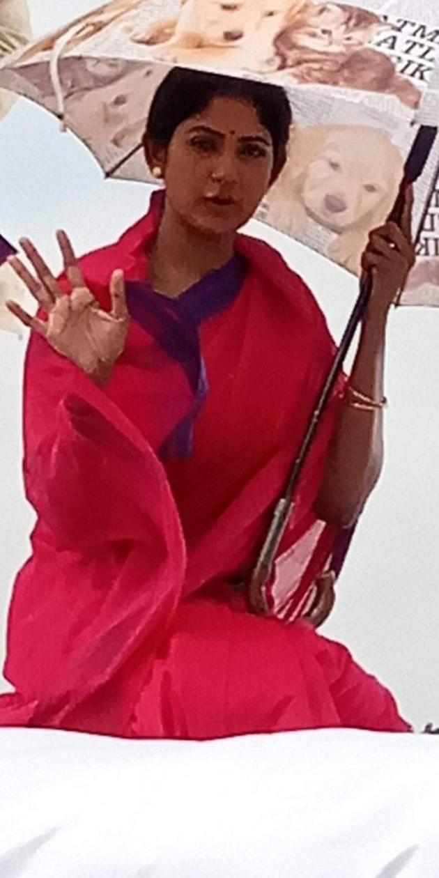 Lakshmis NTR Working Stills