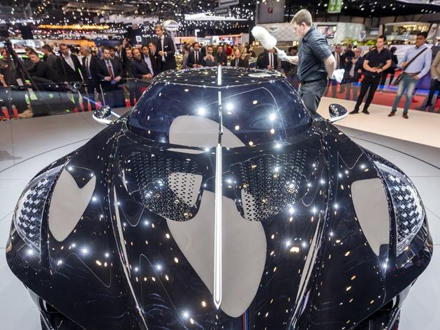 Switzerland Geneva International Auto Show Photos