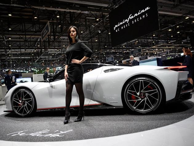 Switzerland Geneva International Auto Show Photos