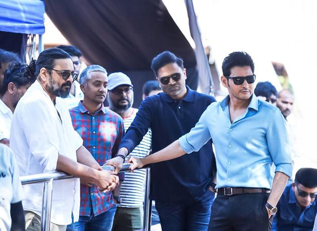 Maharshi Movie Working Stills