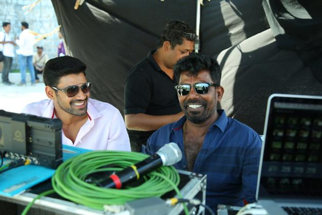 Seetha Movie Working Stills