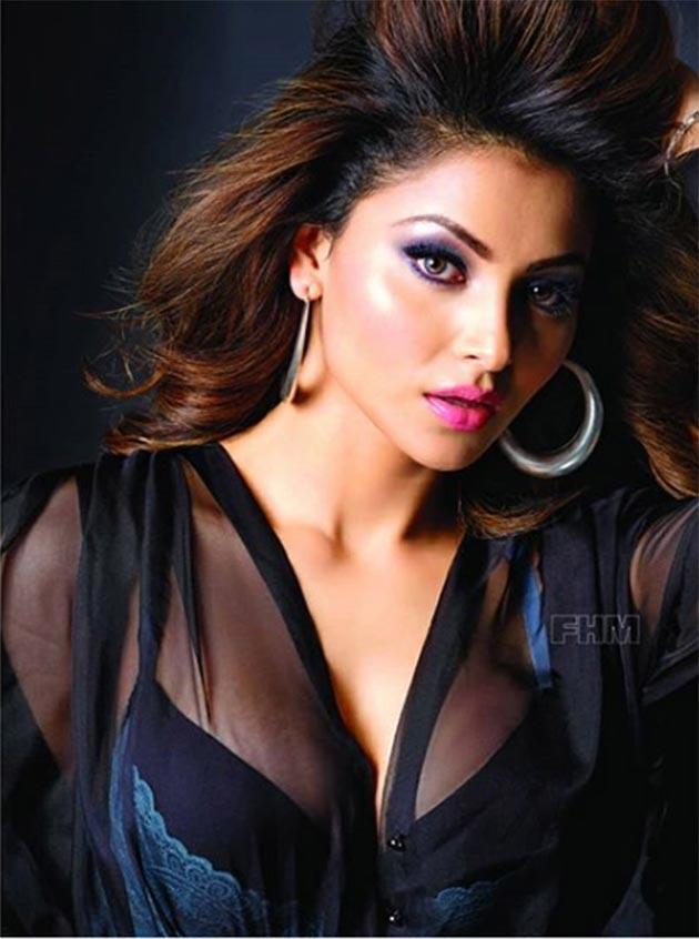 Urvashi Rautela poses for FHM