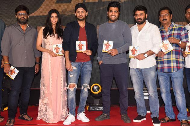 Ranarangam Movie Pre Release Event Photos