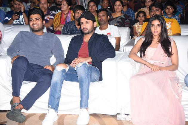 Ranarangam Pre Release Event Photos