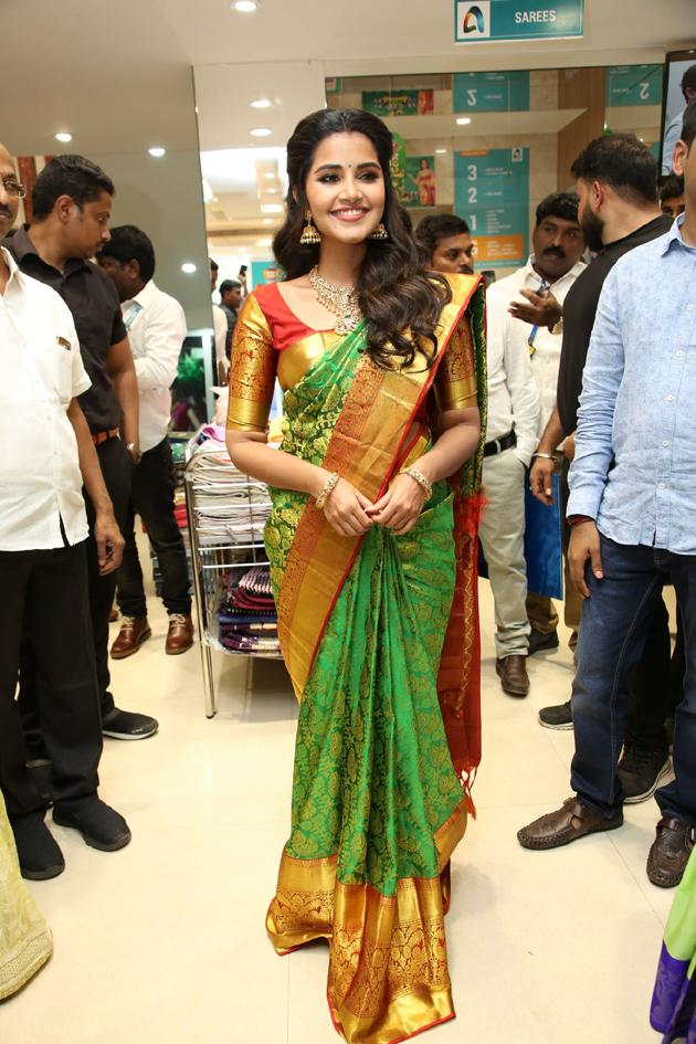Anutex Shopping Mall Grand Festival Prizes Launched by Actress Anupama Parameswaran