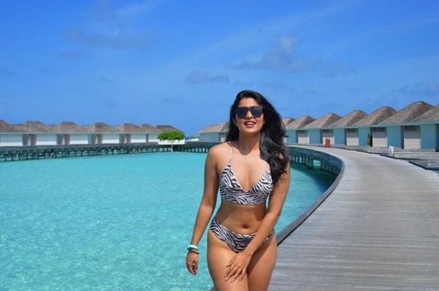Nikita Sharma in Bikini Photos