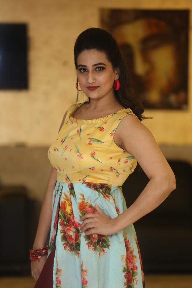 Manjusha Anchor Latest Photos