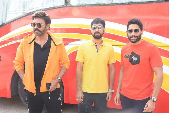 Venky Mama Movie Press Meet Photos