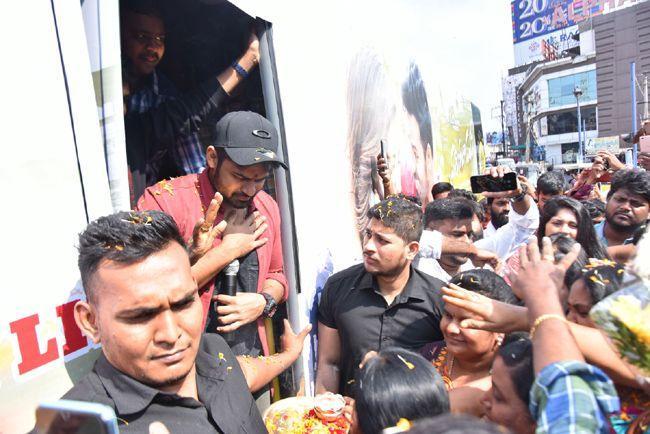 Prathiroju Pandagey Vizag Bus Tour Photos