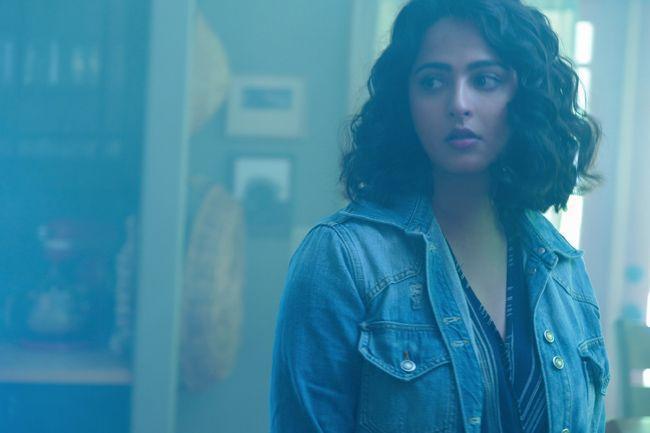 Nishabdham Movie Working Stills