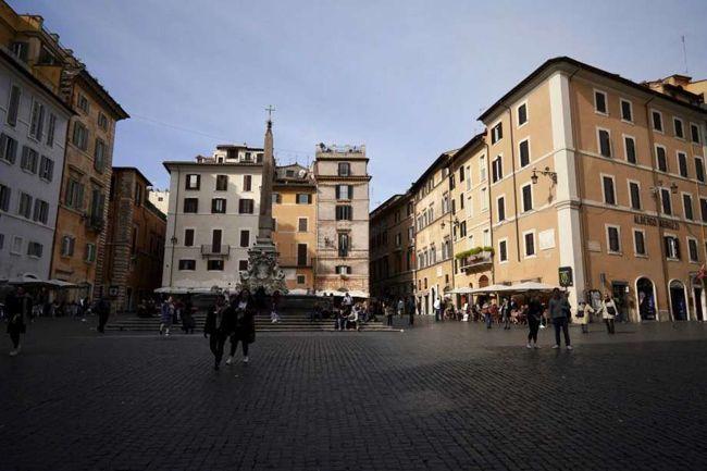 Italy Corona Effect photos