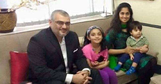 Ajith family Images