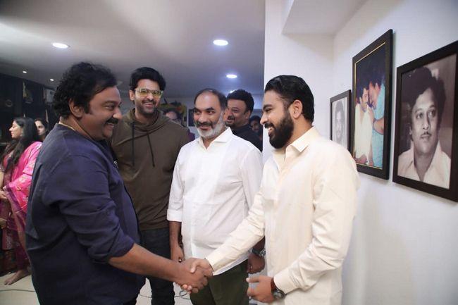 Prabhas20 Launch Pics