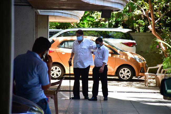 Rishi kapoor prayer meet Photos