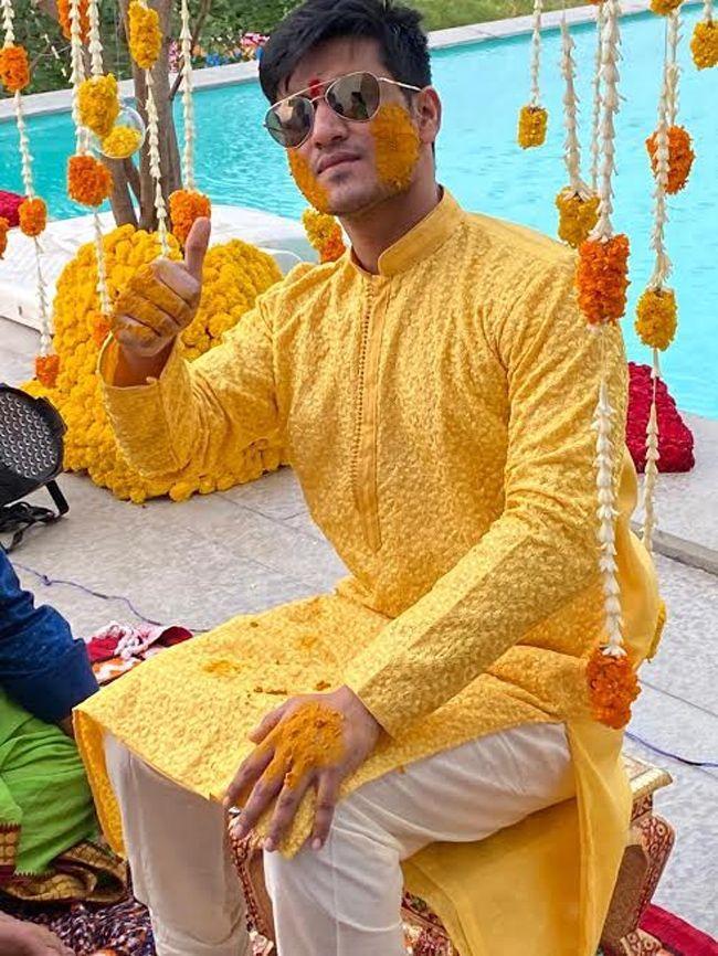 Nikhil marriage Event Images