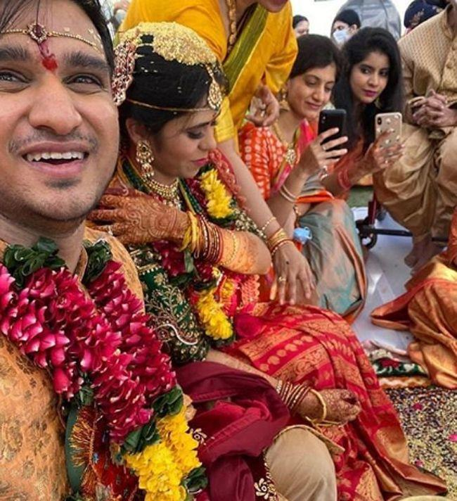 Nikhil And Pallavi Wedding New Hd Images