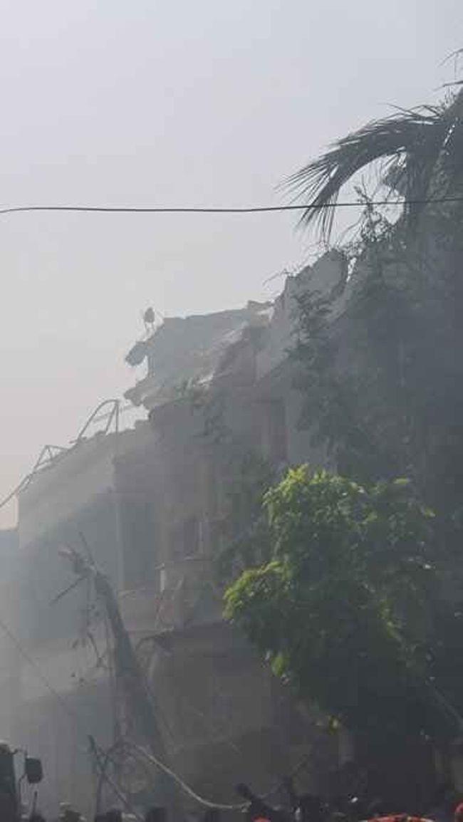 Visuals Of Plane Crash In Karachi Photos