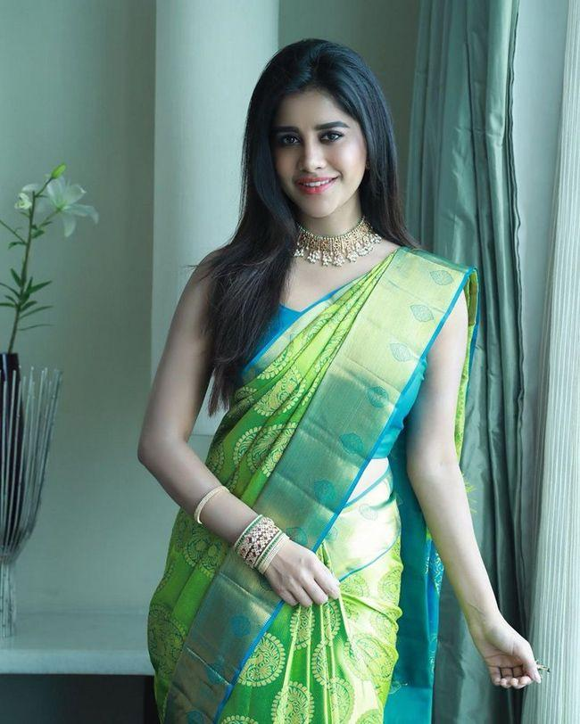 Nabha Natesh Saree Looks