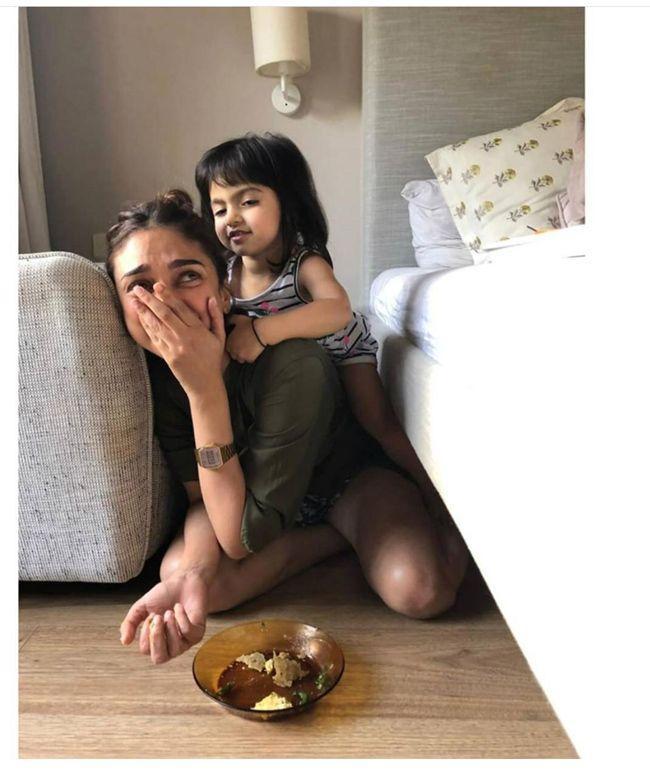 Aditi Rao Hydari Throwback Memories With Kids