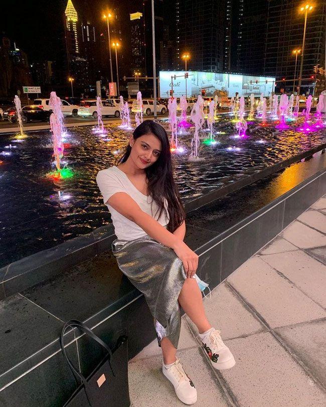 Nikitha Narayan Enjoying Her Lifestyle