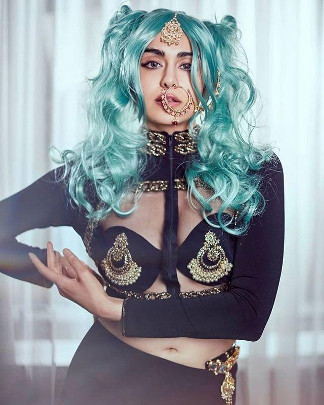 Adah Sharma Trendy Poses