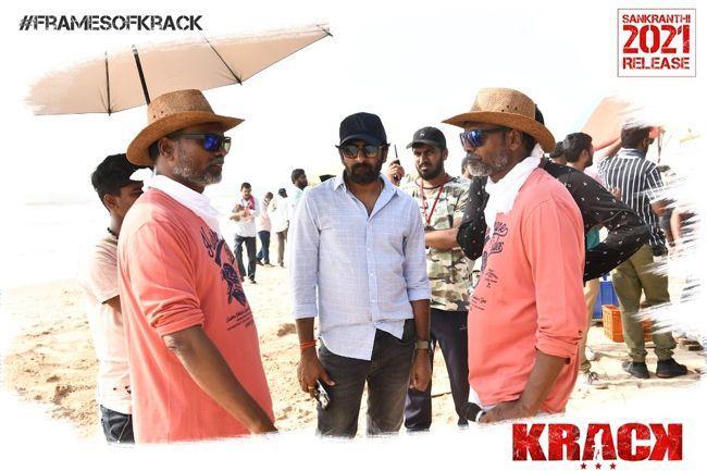 Krack Movie Working stills