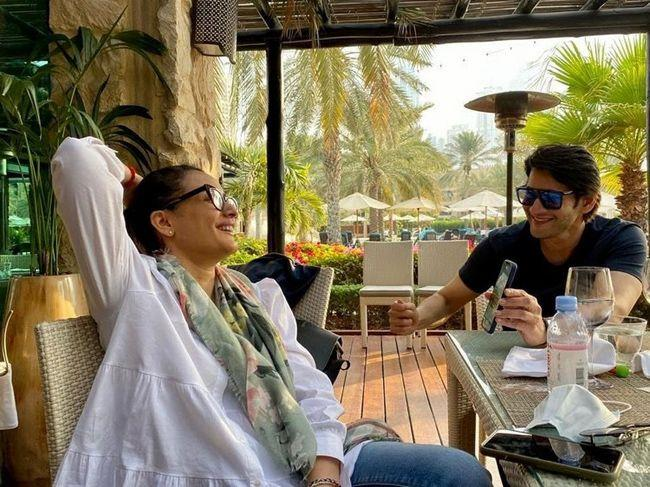 Mahesh Babu Joyful Vacation Photos