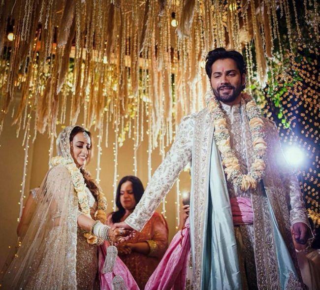 Varun Dhawan Natasha Wedding Photos