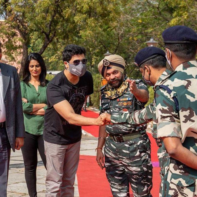 Photos Of Adivi Sesh Republic Day Celebrations