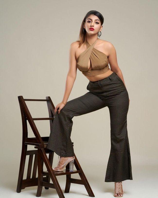 Yashika Aannand Glam Poses