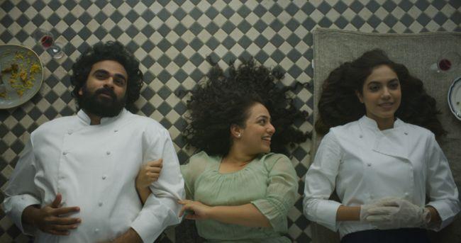 Ninnila Ninnila movie Working stills