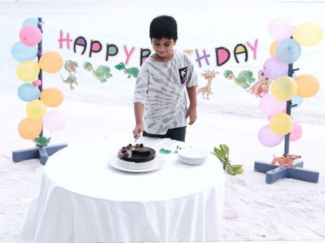Allu Ayaan Birthday Celebrations
