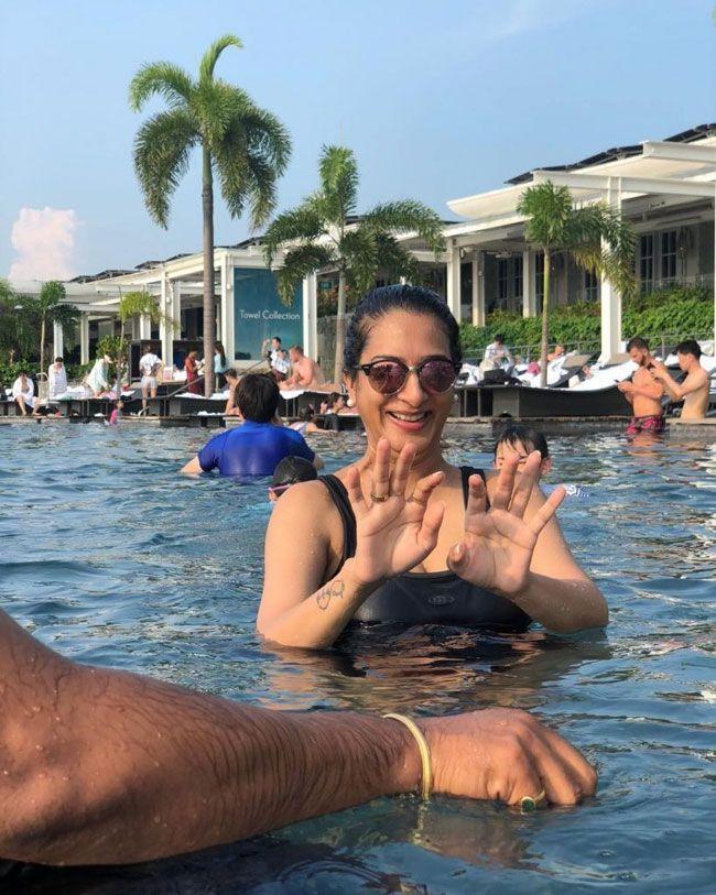Surekha Vani Joyful Looks