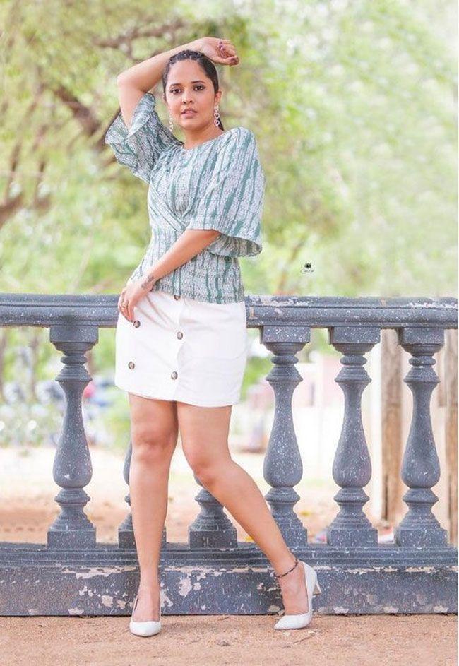 Anasuya Bharadwaj Latest shoot Images