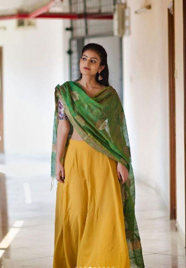Ananya Nagalla Traditional Looks