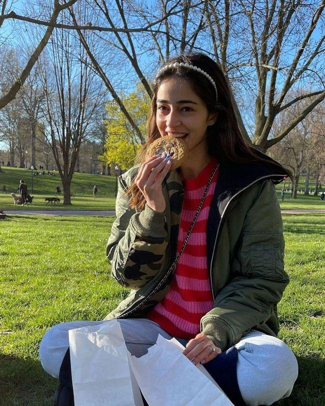 Ananya Panday Enjoying Her Lifestyle