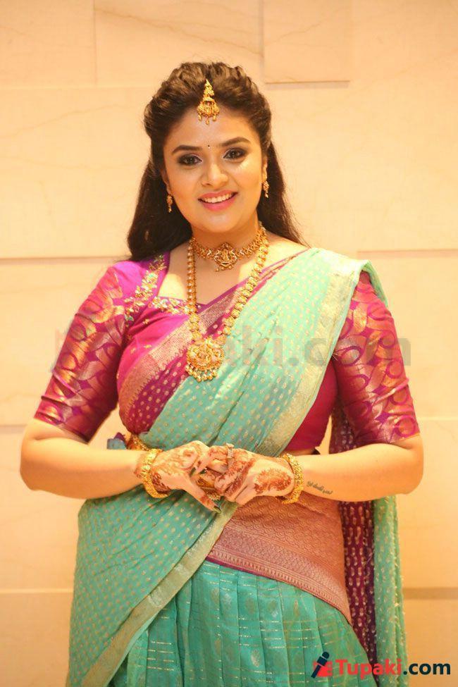 Sreemukhi At Sr kalyana Mandapam Pre Release Event