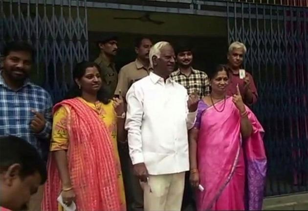 Celebs Cast Their Vote in Telangana Assembly Elections 2018