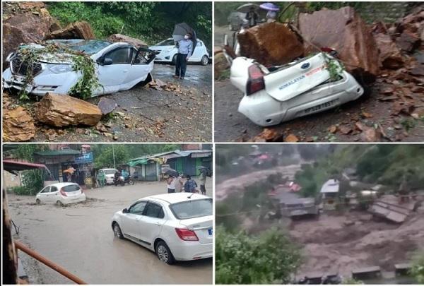 लाहौल में आई बाढ़, मां-बेटे समेत 14 लापता- किन्नौर में बादल फटा, 400 से ज्यादा सड़कें बंद