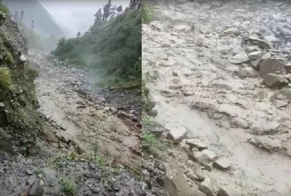 हिमाचल में बारिश का कहर, 20 घर क्षतिग्रस्त, 22 सडक़ें अवरुद्ध-कुल्लू में बादल फटने से तबाही
