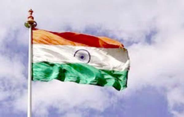 विदेश में फहराया भारत का झंडा