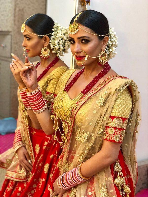 Nuvvu Nenu girl stuns in Bridal look: Is she getting married ...