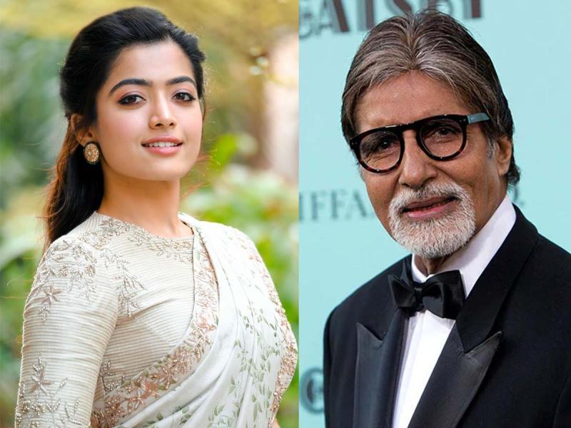 Deadly Rashmika Mandanna in Amitabh Bachchan film - tollywood